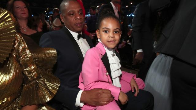Jay Z's Daughter Blue Ivy Freestyles on 4:44 Bonus Track