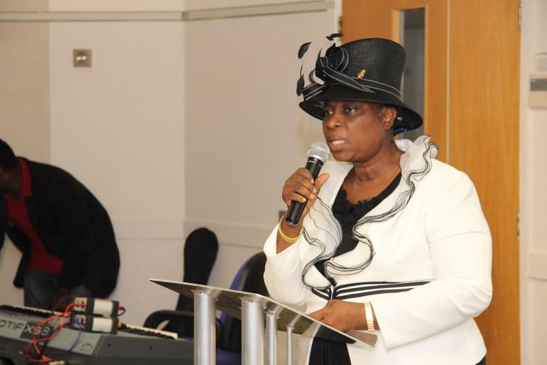 Bishop Adeboye's Wife Receives Africa Leadership Award