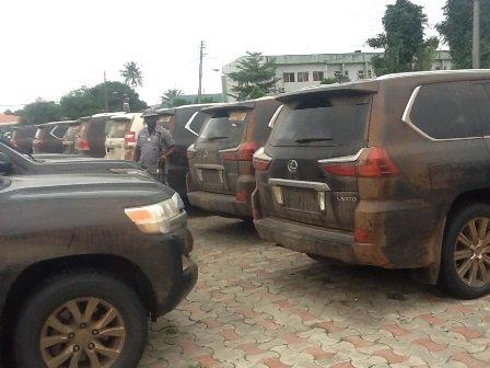 Nigeria Customs Seizes N1.3b Worth Of Brand New Vehicles