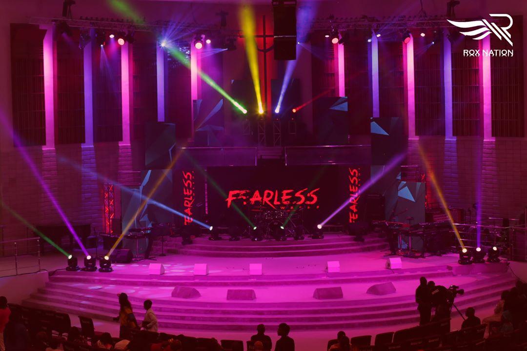 #FearlessConcert: Kirk Franklin, Tim Godfrey, Frank Edwards worship God in Style