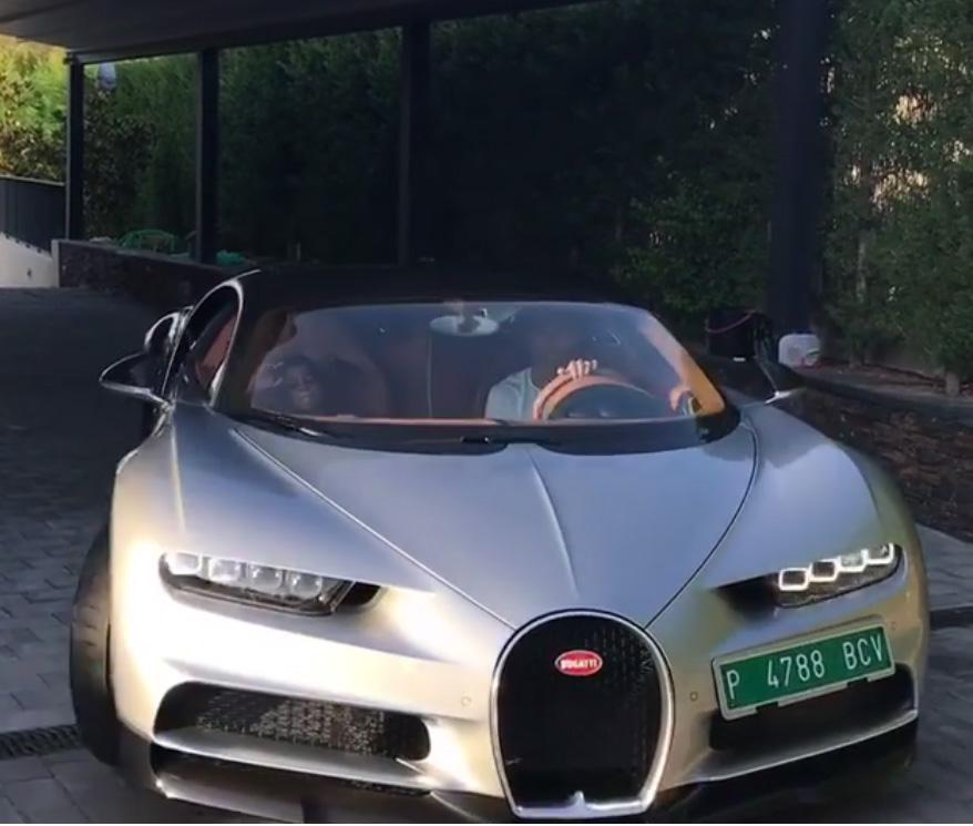 Cristiano Ronaldo Splashes $3m on 'New Animal' - Bugatti Chiron