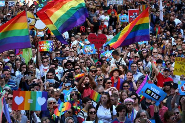 Australia Votes 'Yes' to Same Sex Marriage