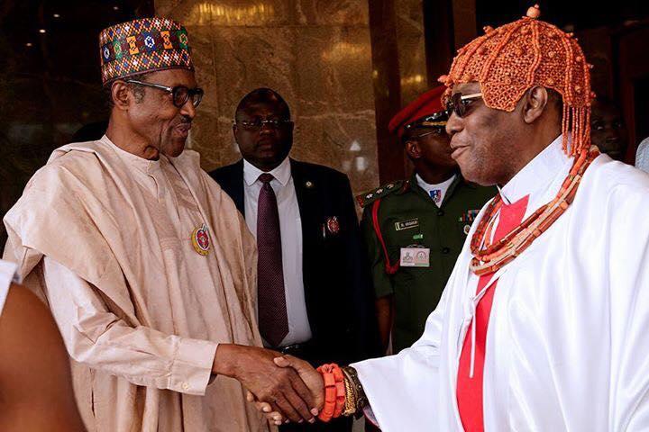 President Buhari Commends Benin Kingdom For Stabilising Nigeria