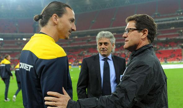 Capello Talks Taming Zlatan Ibrahimovic, Describes Ronaldo as Greatest Player