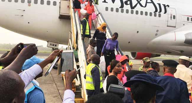 New Set Of 490 Nigerians Return From Libya