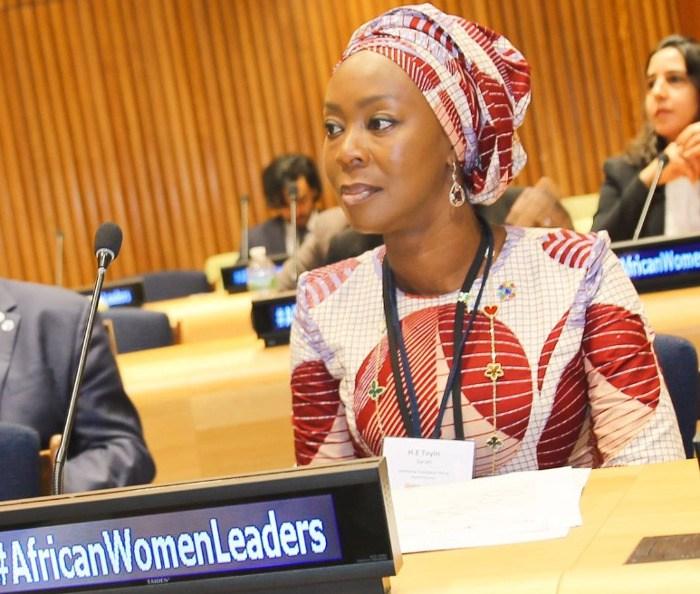 Toyin Saraki Named as Special Advisor to World Health Organisation