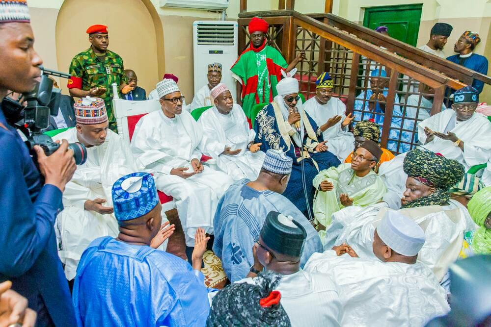 Presidency Defends Buhari at Ajimobi-Ganduje Wedding at Kano and Absence in Dapchi