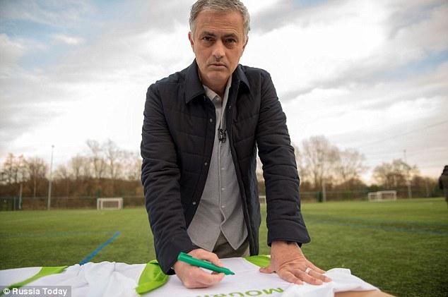 Jose Mourinho Lands Russia 2018 World Cup Deal