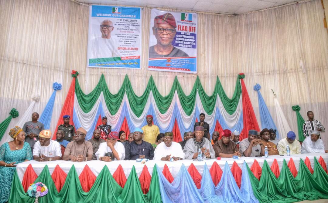 Oyegun Flags Off Continuous Membership Registration In Ekiti