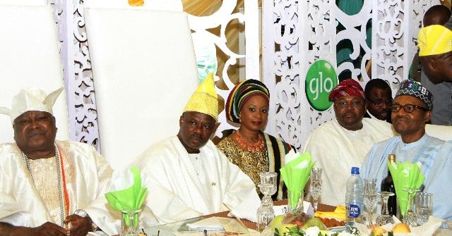 President Buhari Hails Adenuga on his 65th Birthday