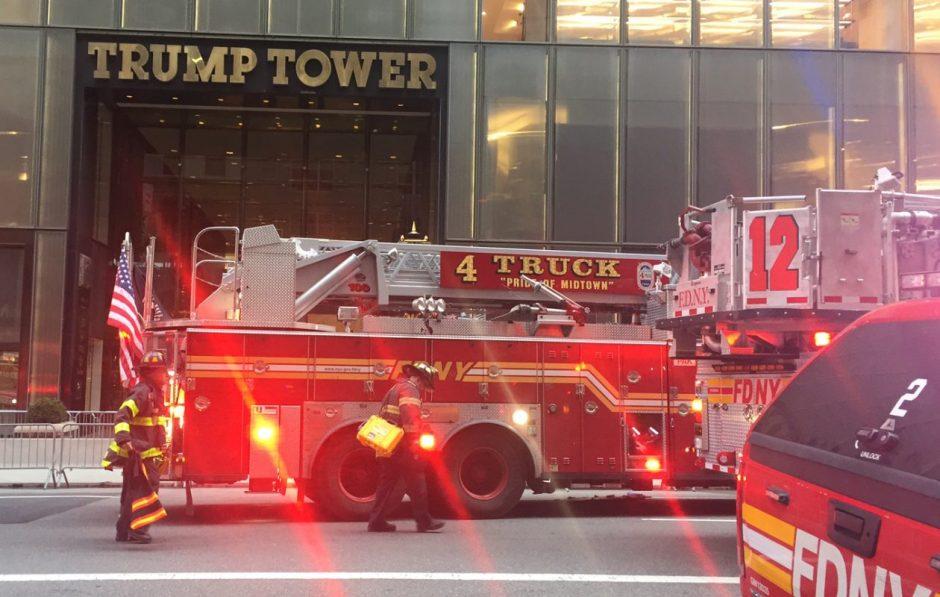 Man dies, 6 Injured as Fire Engulfs Trump Tower in New York