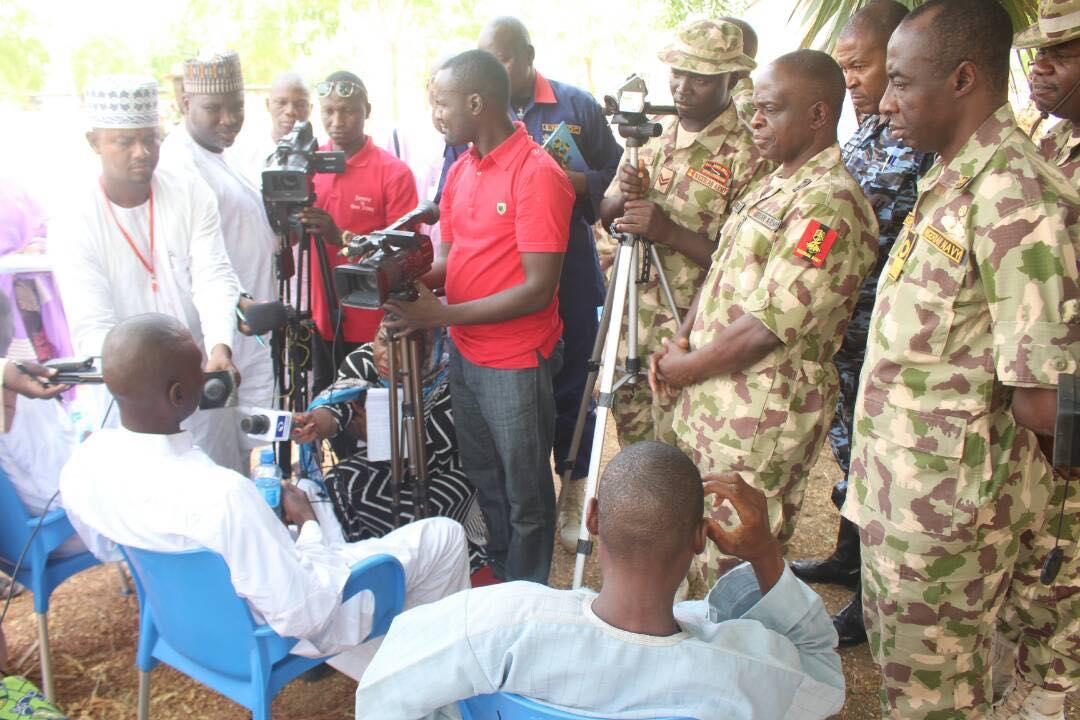 More Boko Haram Terrorists Surrender To Nigerian Army