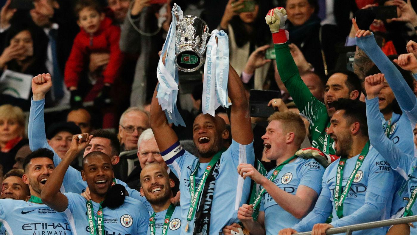 Manchester City are 2018 Premier League Champions