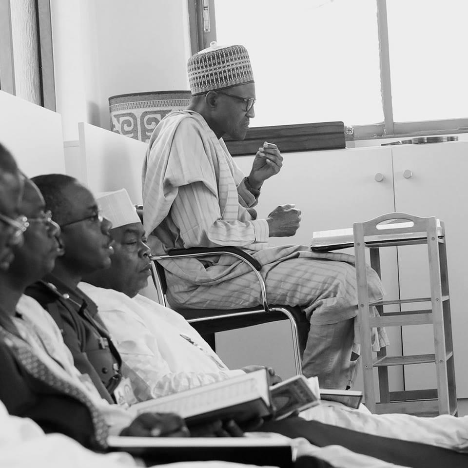 President Buhari Participates In Ramadan Tafsir