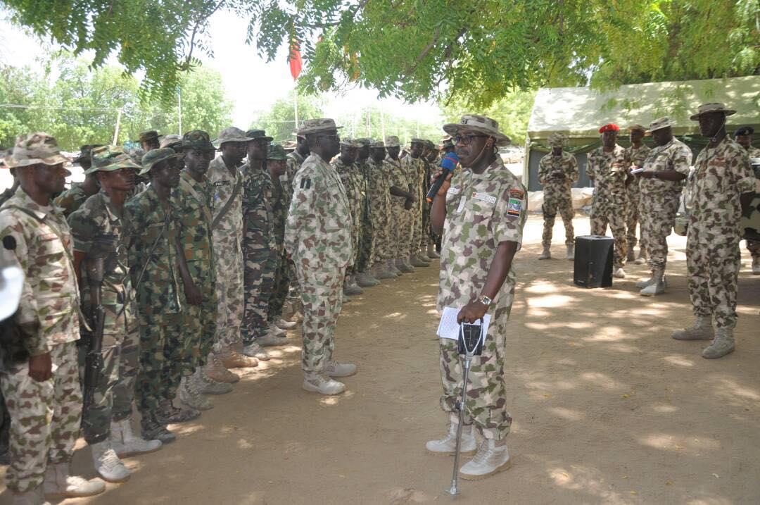 Nigerian Army Tasks Troops On Professionalism To Neutralise Boko Haram Terrorists