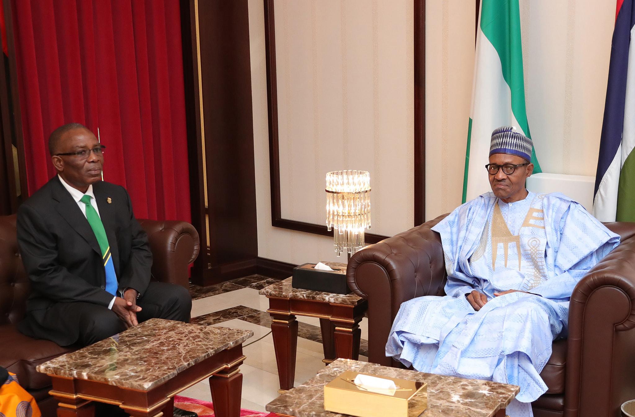Nigeria To Boost Economic Relations With Tanzania - President Buhari Assures
