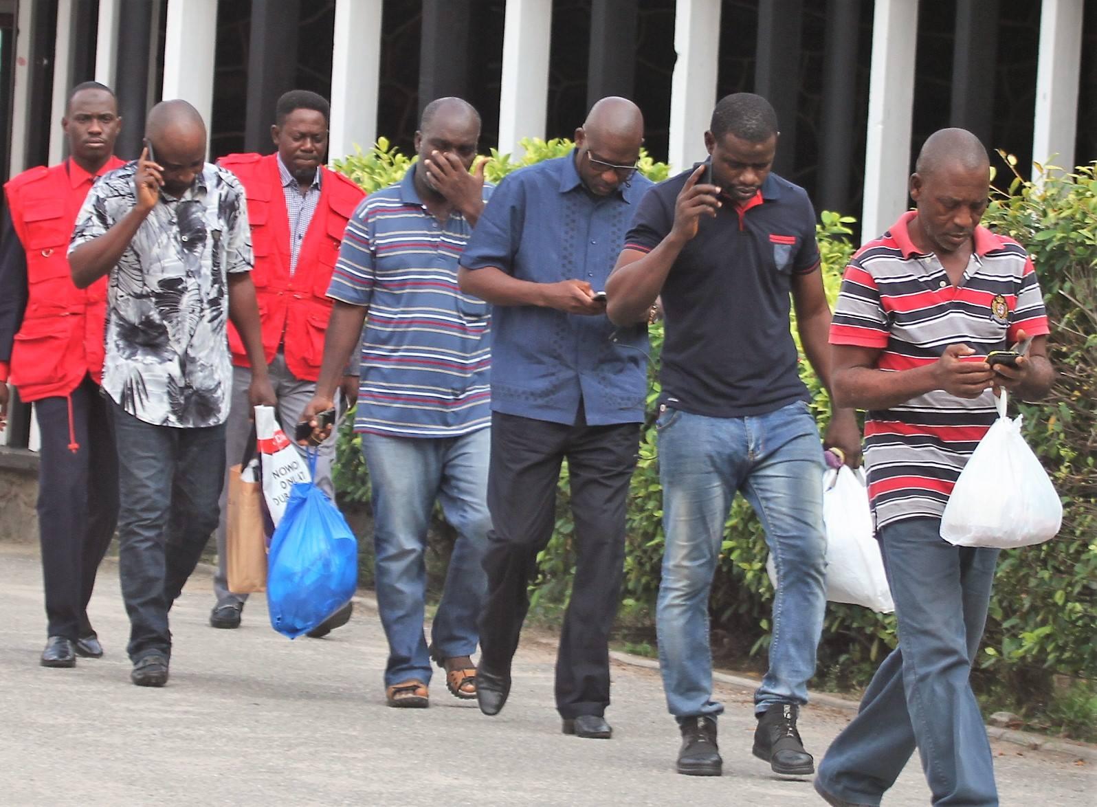 EFCC Arrest Nine Illegal Oil Dealers