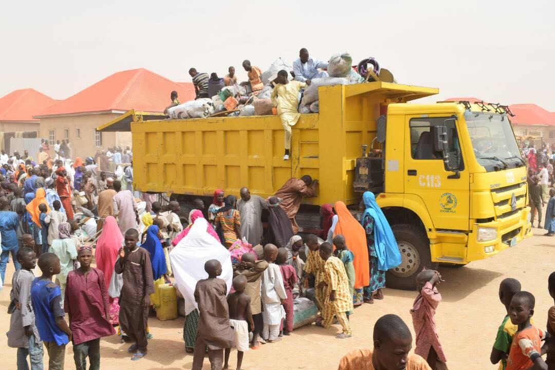 Over 2000 IDPs Return Home In Borno State