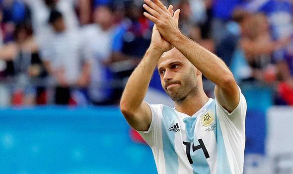Mascherano Quits Argentina National Team