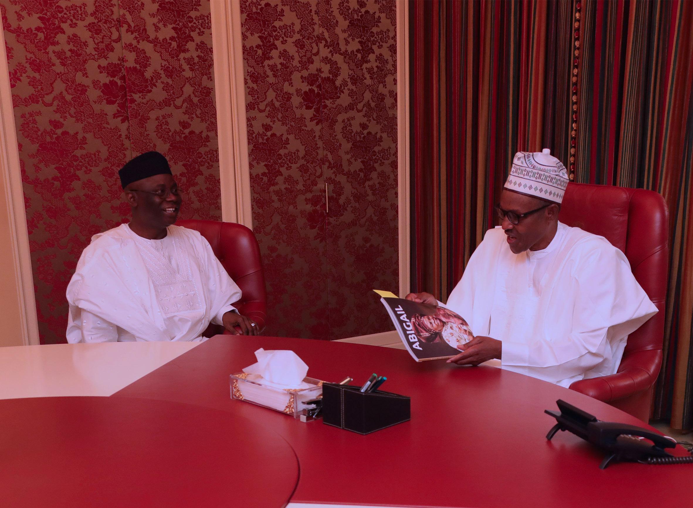 Presidency Denies Kemi Adeosun and Pastor Bakare Meeting With President Buhari