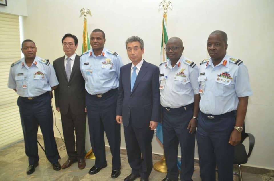 Korean Ambassador Seeks Closer Ties Between NAF And Korean Military