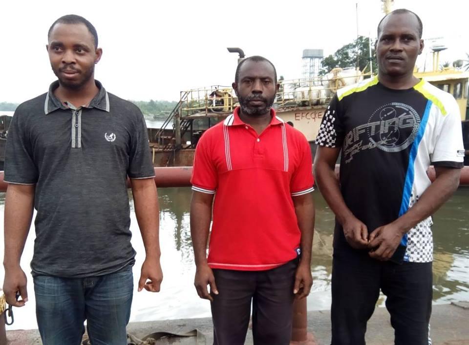 EFCC Quizzes Three Suspected Oil Thieves