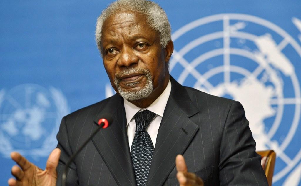 President Buhari Mourns Former UN Scribe, Kofi Annam