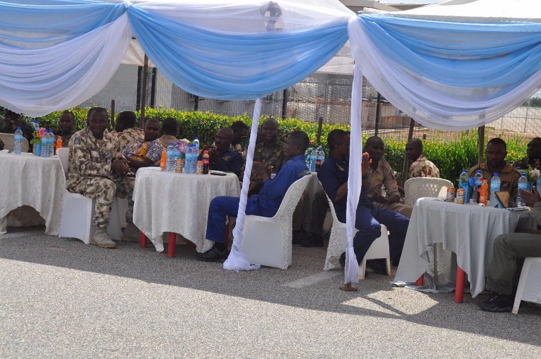 Chief Of Air Staff Celebrates Eid-El-Kabir With Troops Of Operation Diran Mikiya