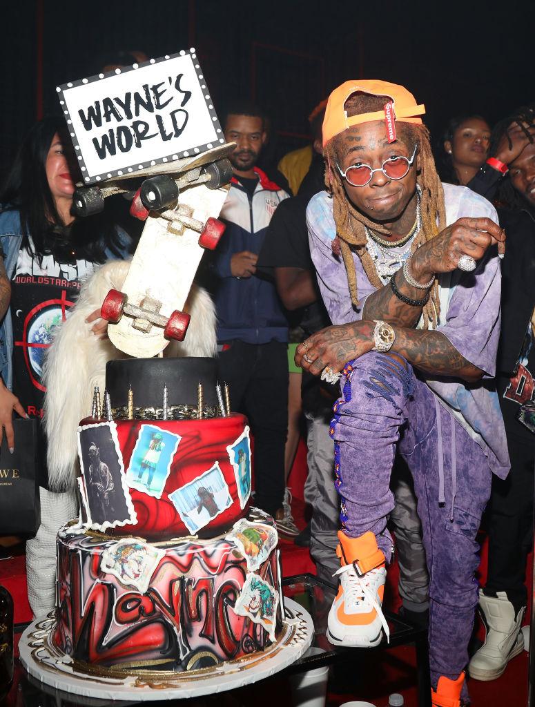 Lil Wayne Celebrates 36th Birthday & Carter V Release