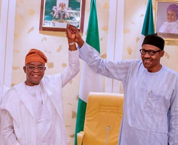 President Buhari Congratulates APC Oyetola For Winning Osun Guber Election