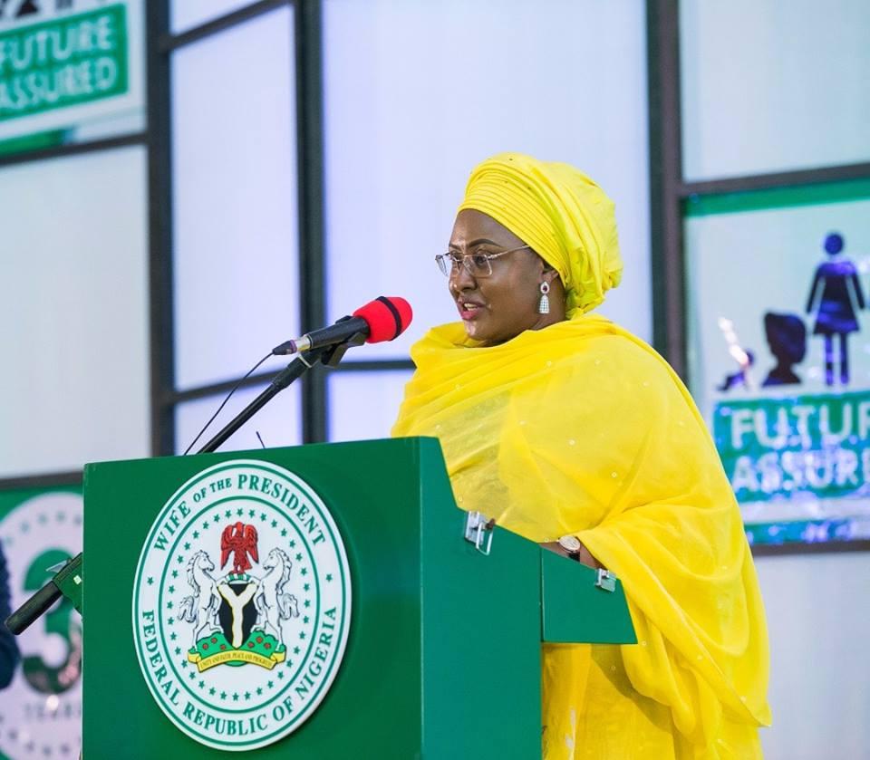 Future Assuredat 3: Aisha Buhari Vows To Do More