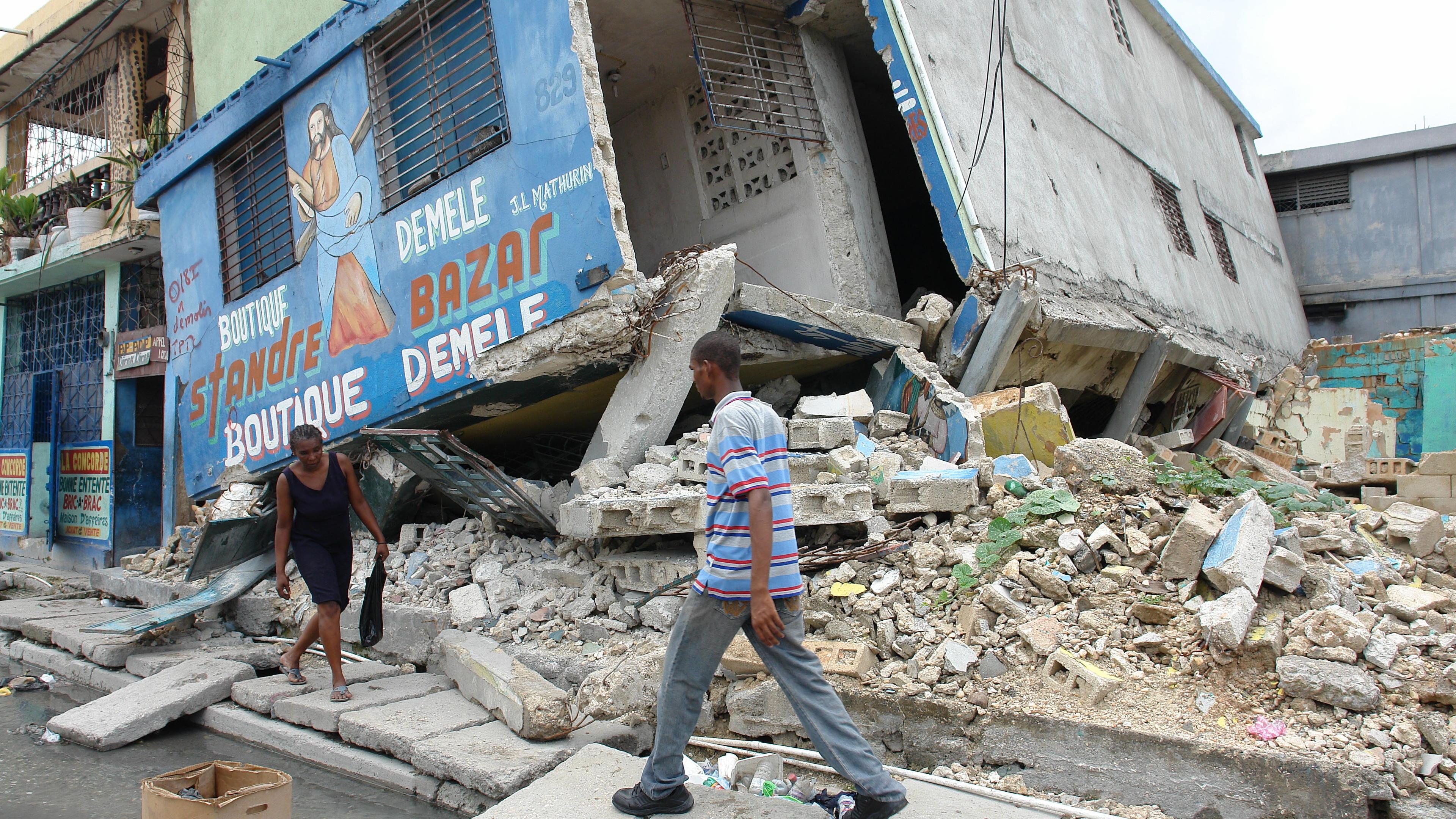 Deaths Confirmed As Earthquake Hits Haiti