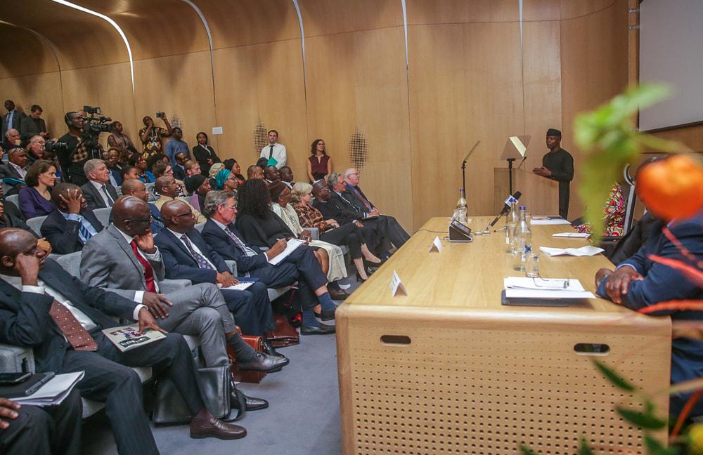 With Abundant Innovative Ideas and Political Will , Africa Development Imminent, Says Vice President Yemi Osinbajo