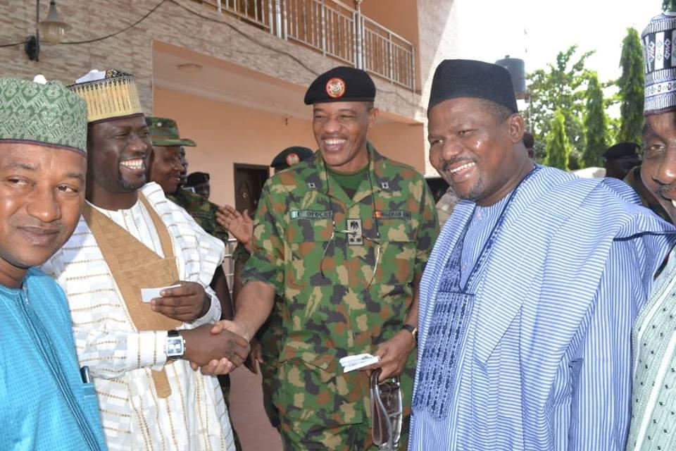 Army War College Participants Visits Zamfara State