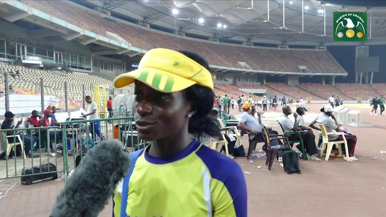 Akusho Wins Gold At 2018 Lagos Women Run
