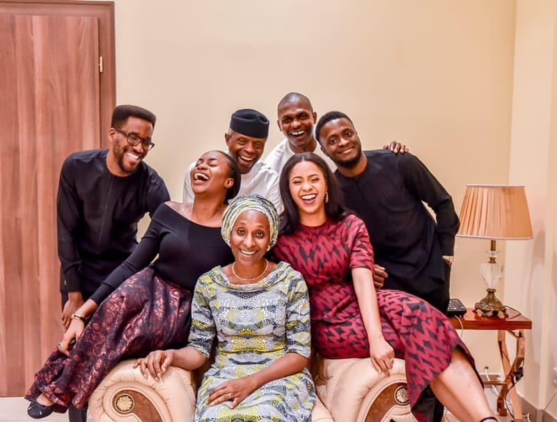 VP Yemi Osinbajo & Wife Dolapo celebrate 29th Wedding Anniversary