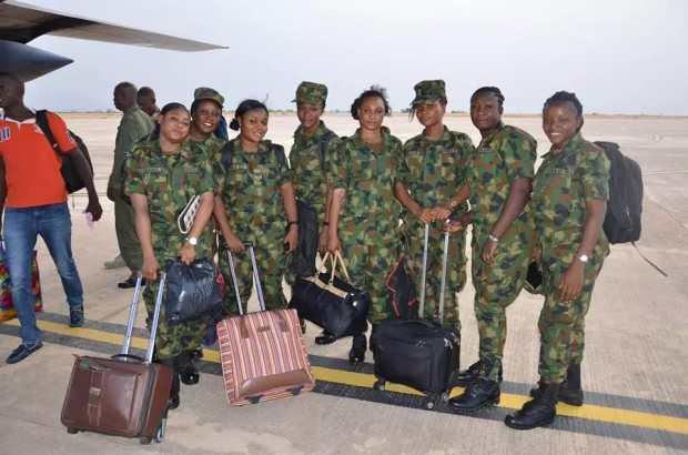 VIDEO: Nigerian Air Force Women Of War