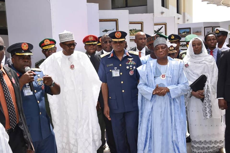 President Buhari Declares Open Nigerian Air Force Maiden International Air Power Seminar