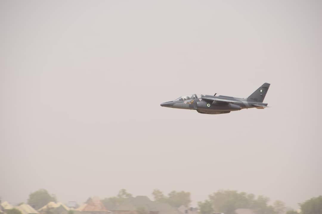 Nigerian Air Force Neutralizes Several Boko Haram Terrorists