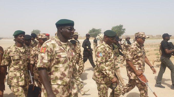 Chief Of Defence Staff Visits Operation Lafiya Dole
