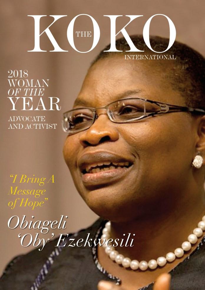 Presidential Candidate Obiageli 'Oby' Ezekwesili Is KOKO Magazine's 2018 'Woman of the Year'