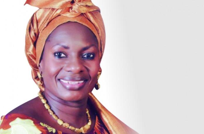 President Buhari Felicitates With Pauline Tallen At 60