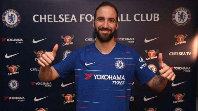 Argentine Striker Higuain Joins Chelsea On Loan