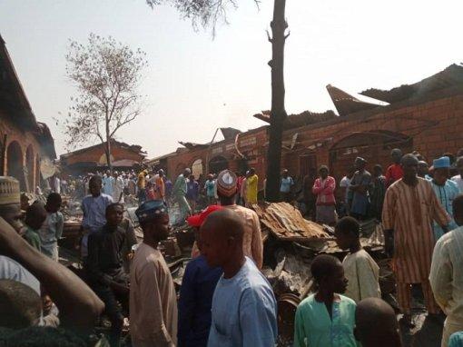 NEMA Briefs Presidency On Actions Taken On Minna Market Fire
