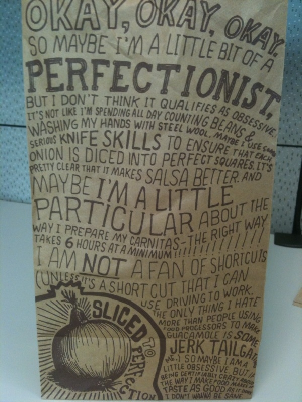 Chipotle doesnt care about the stigma of OCD