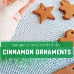 How To Make Diy Cinnamon Ornaments Sweet Anne Designs