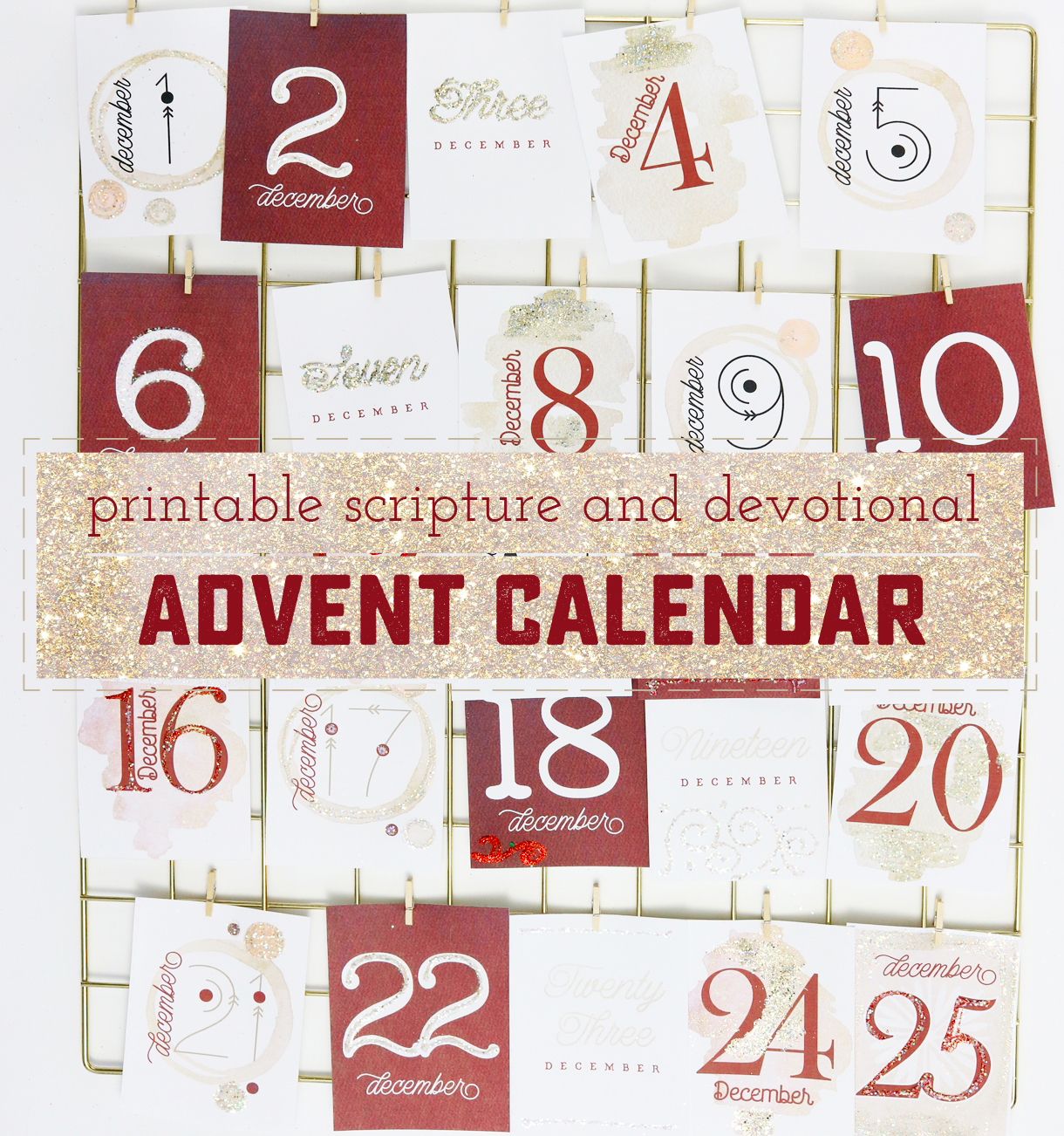 How To Make A Beautiful And Meaningful Printable Advent
