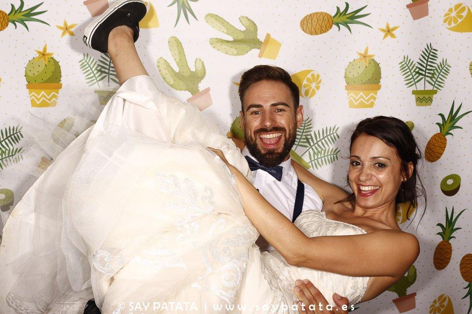 fotomaton de boda en barcelona