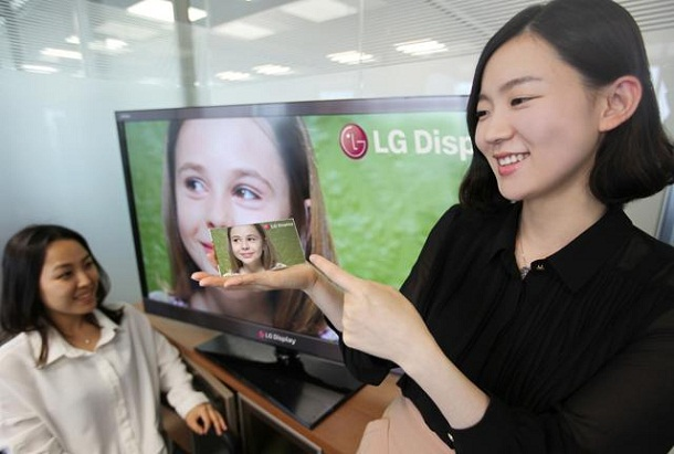 LG Full HD LCD smartphone panel