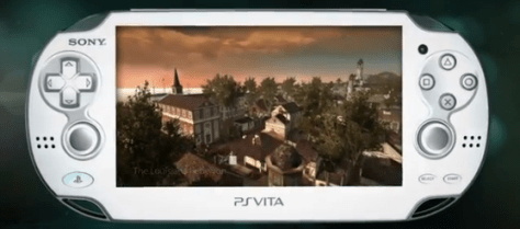 PS Vita with Assassin's Creed screenshot